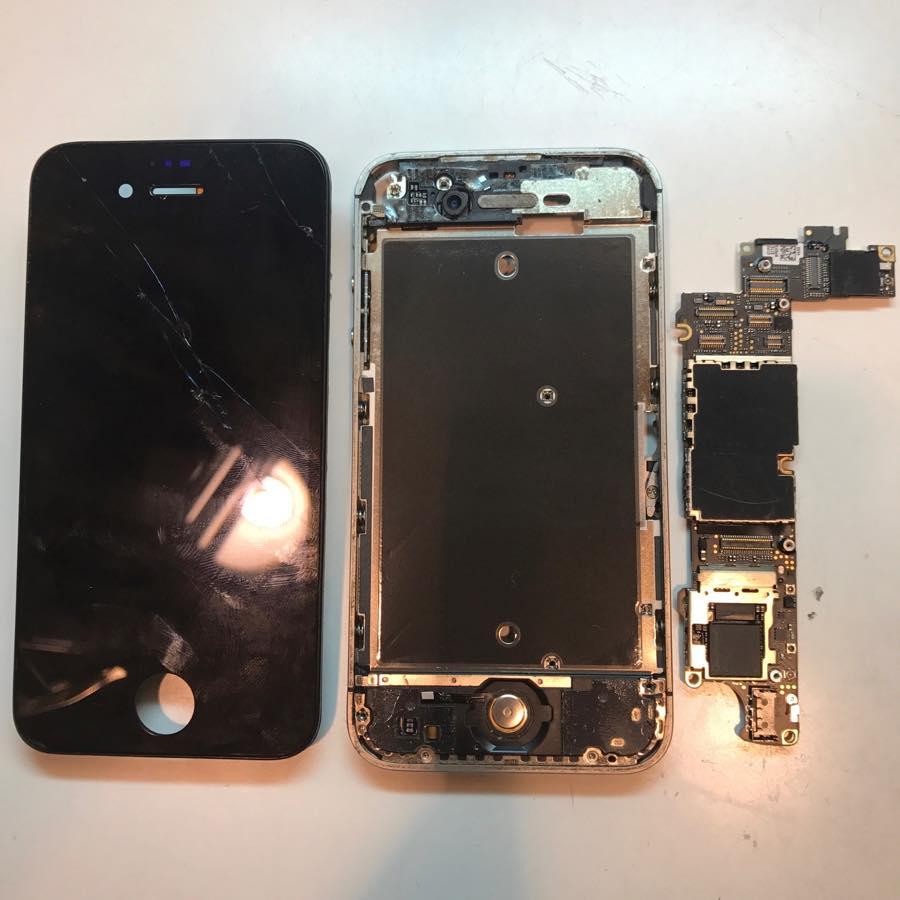 2017年3月20日iPhone4sガラス割れ修理