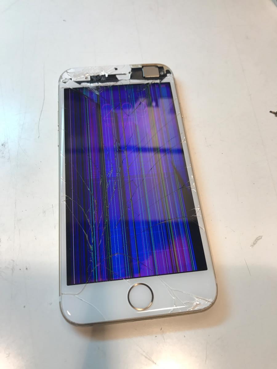 2017年4月21日iPhone6ガラス割れ修理