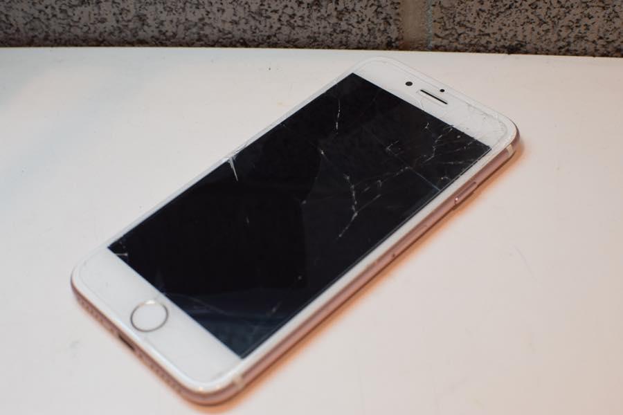 2017年6月7日iPhone7ガラス割れ修理01
