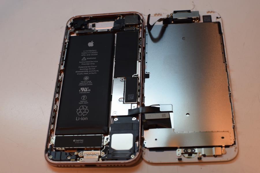 2017年6月7日iPhone7ガラス割れ修理02