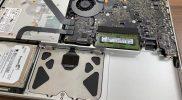 【MacBookPro】バッテリーが膨張してアップルストアに行ったらバッテリーの取り外されただけだった!【バッテリー交換:12,800円】