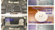 MacBook Pro 15inch 2016 model:A1707 Battery exchange